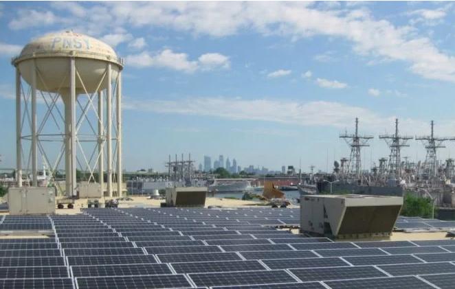 Ameresco's portfolio includes the Philadelphia Navy Yard's microgrid.