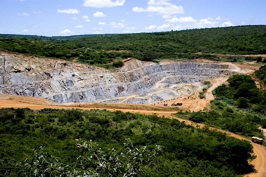 Caetité is the only uranium mine in Brazil, but operations have been halted since 2014. (Image: Marcelo Correa | INB.)