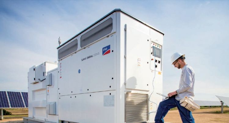 According to market research firm, Wood Mackenzie, PV inverters nearing 'end of life' replacement are expected to total 21GW by the end of 2019. Image: SMA Solar