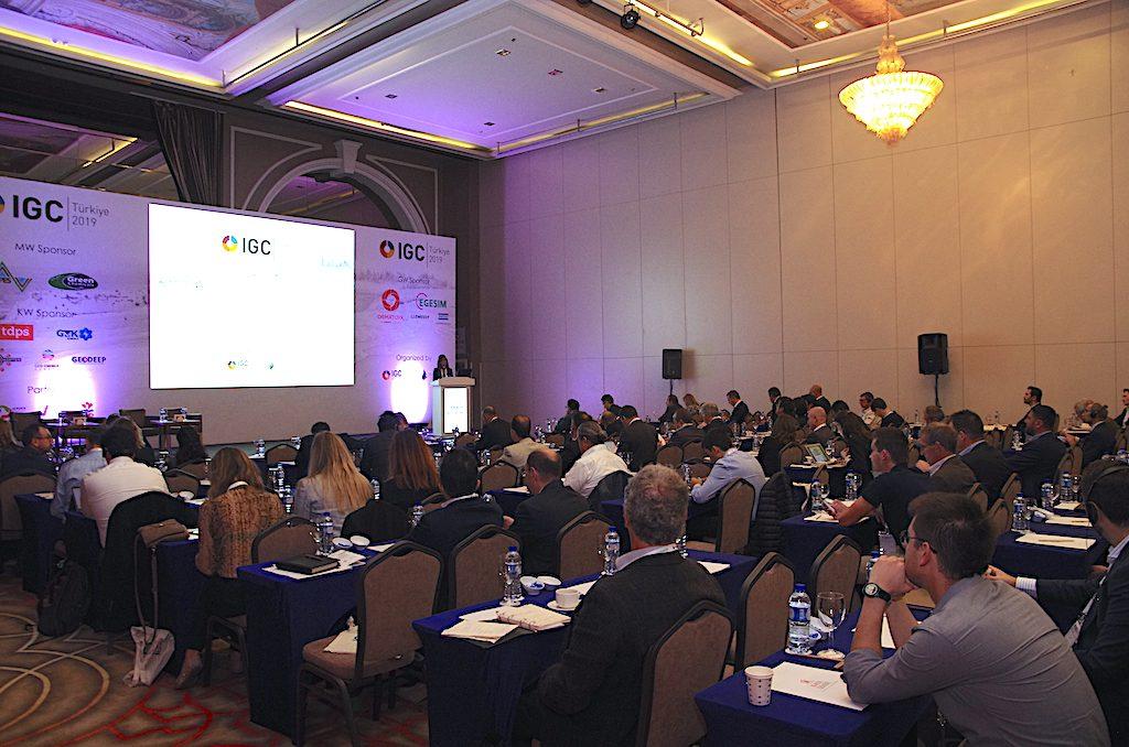 Opening session IGC Turkey 2019, Izmir (source: JeotermalHaberler/ Yener Bozkurt)
