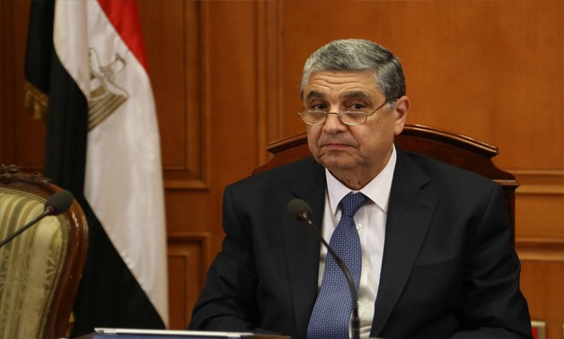 FILE - Minister of of Electricity and Renewable Energy Mohamed Shaker
