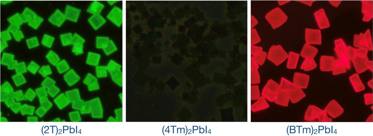 Optical properties of the hybrid halide perovskites quantum wells.  Image: Purdue University