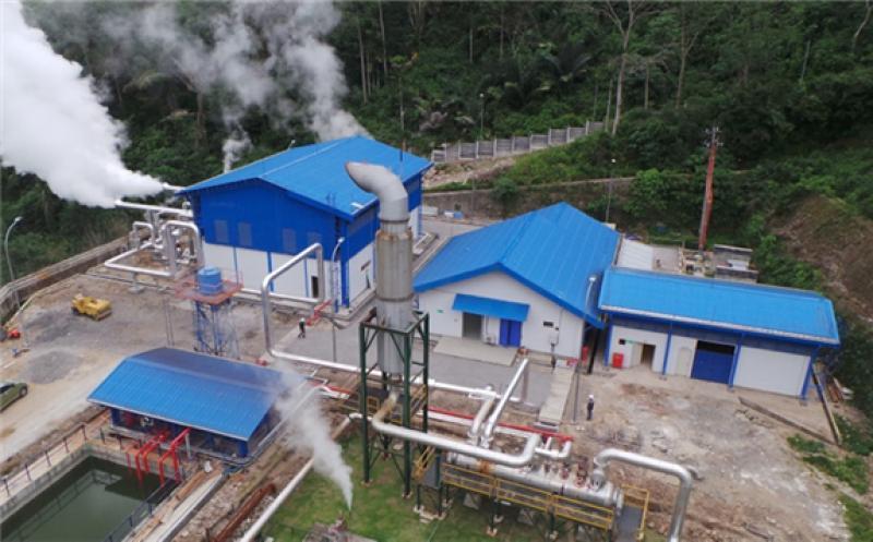 Ulumbu Geothermal Plant (Source: Geothermal Development Associates)