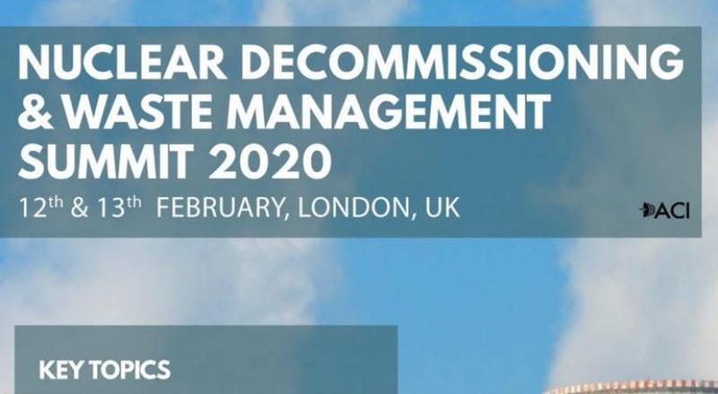 Nuclear Decommissioning & Waste Management Summit 2020