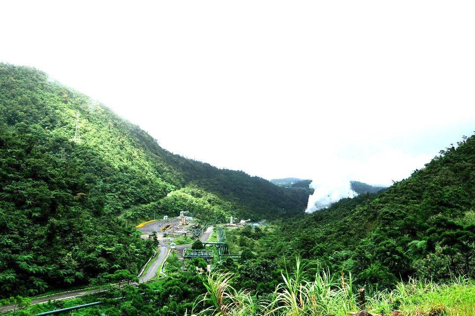 BacMan geothermal field, Batangas, Philippines (source: Julius Balbin)