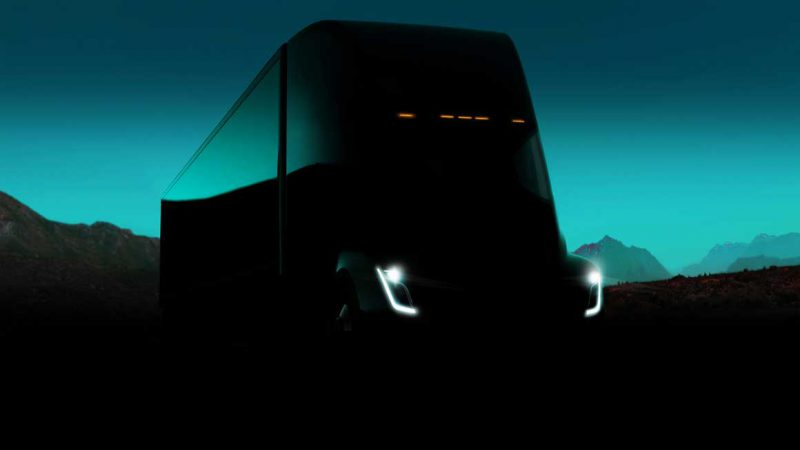 Tesla Semi. Source: Tesla