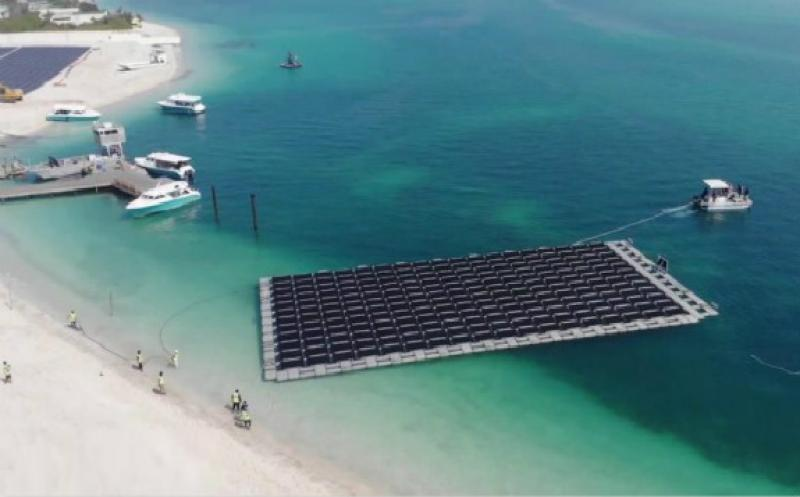 First Floating Solar in the Middle East Set for Commissioning