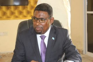 Abdirashid Mohamed Ahmed, Somalia's Minister of Petroleum & Mineral Resources. Source: The Ministry of Petroleum and Mineral Resources of Somalia