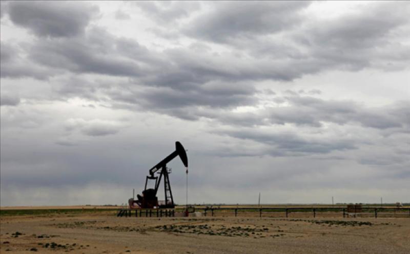 FILE PHOTO: A TORC Oil & Gas pump jack is seen near Granum, Alberta, Canada May 6, 2020. REUTERS/Todd Korol