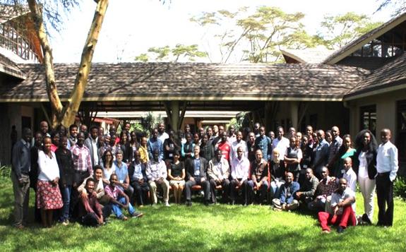 Participants of UNU GTP (now GRÓ GTP) Short Course II, Kenya (source: UNU-GTP)