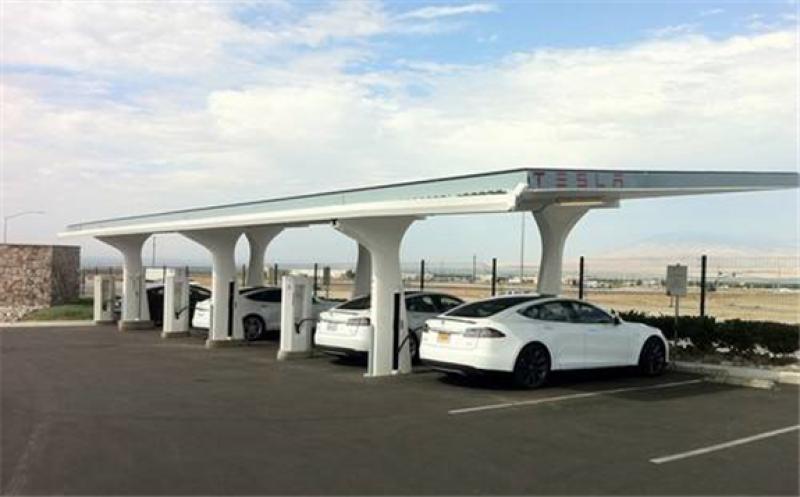 China: Beijing's First Tesla V3 Super Charging Station Landed