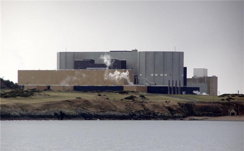 Wylfa nuclear power station from Llanbadrig Point. Credit: David Dixon.