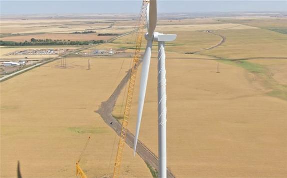 Goldwind Toasts Saskatchewan Turbine Triumph