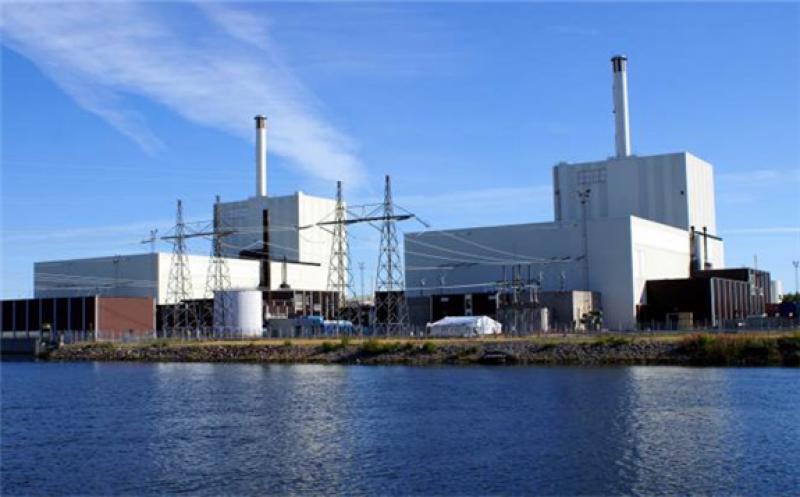 The Forsmark plant on Sweden's eastern coast (Image: Vattenfall)