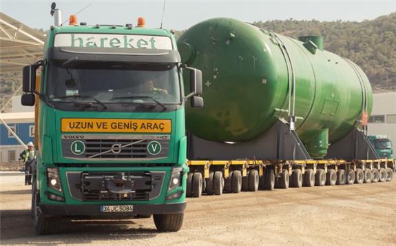 Arrival of the steam generators for Akkuyu 1 (Image: JSC Akkuyu Nuklear)