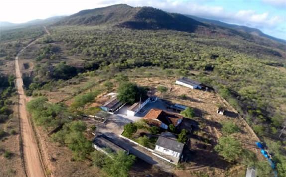 The uranium phosphate deposit located in Itatiaia (Image: INB)