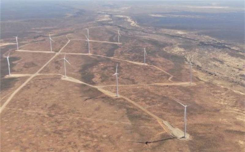 Supplied image of Perdekraal East Wind Farm.