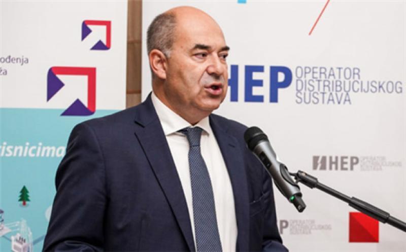 Frane Barbarić, President, HEP