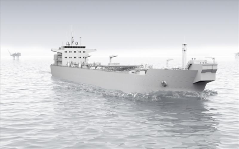 Shuttle tanker illustration; Image credit: ABB
