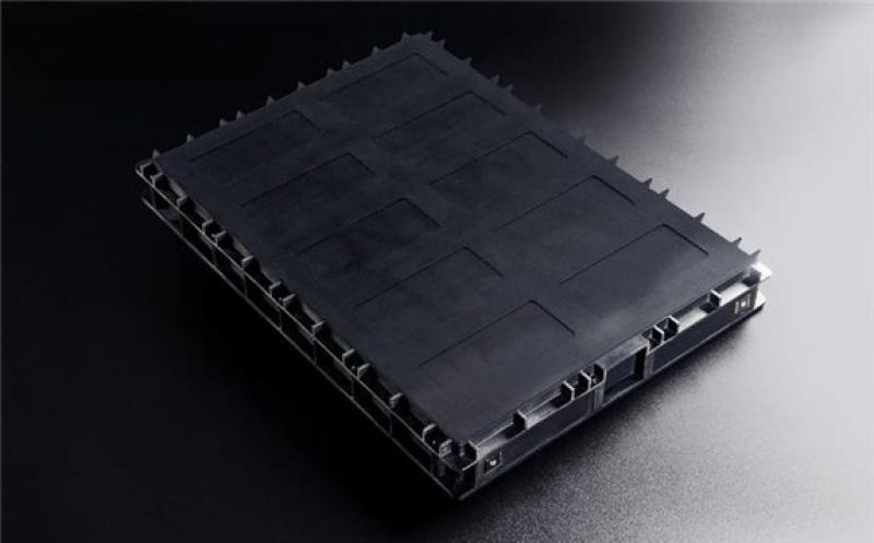 All polymer lithium-ion battery module. Image by APB Corp.