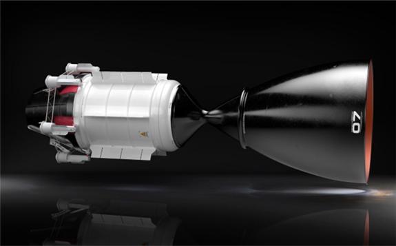 USNC-Tech's NTP design concept (Image: USNC)