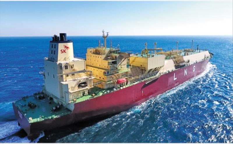 LNG carrier of SK E&S
