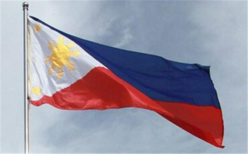 The Philippine flag (Courtesy of the Government of the Philippines)