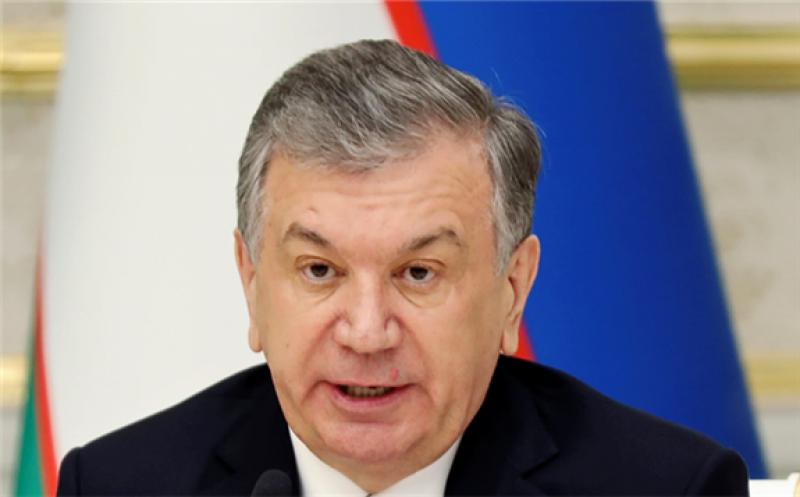 Uzbek president Shavkat Mirziyoyev's country is joining east Asian nations such as Japan and South Korea in aiming for carbon-neutrality by 2050.   © Reuters