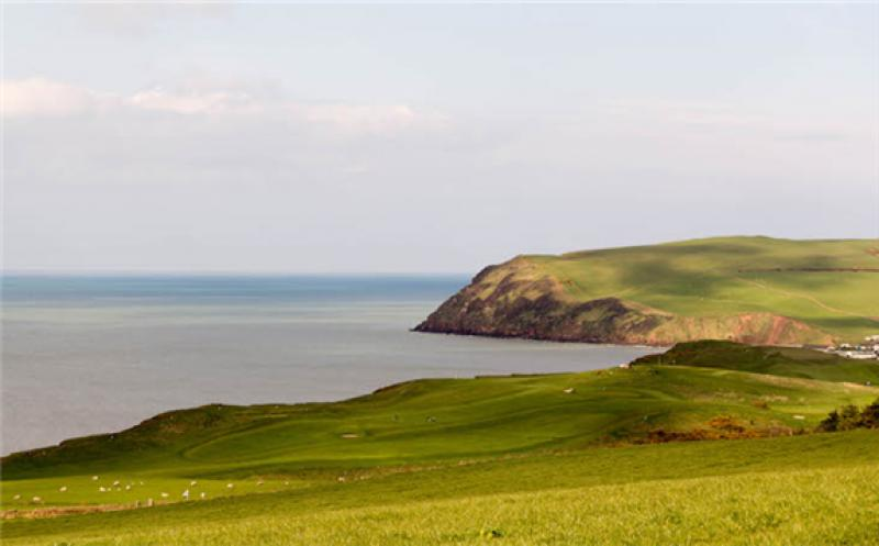 Under a mining company proposal, coal will be extracted from underneath the sea off the St Bees headland, Cumbria, UK. (Photo: Sophie Yeo)