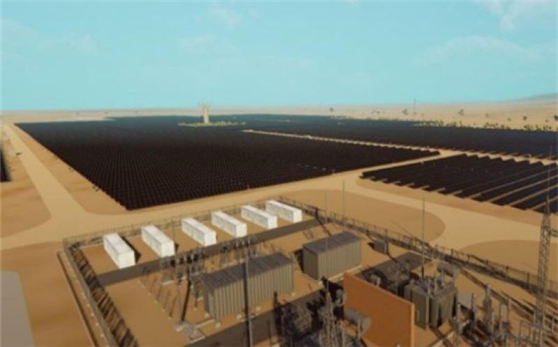 Artist impression of Golomoti Solar plant, credit: InfraCoAfrica