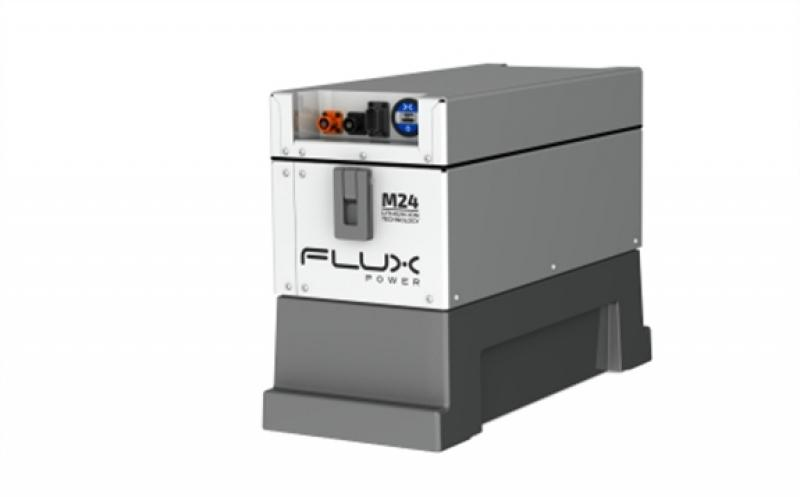 Flux Power's M24 lithium-ion battery pack (Photo: Business Wire)