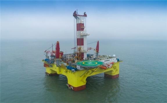 CMHI's drilling rig SHEN LAN TAN SUO