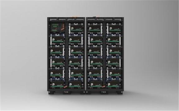 Rendering of Powin Energy's new Stack360E. Image: Powin Energy.
