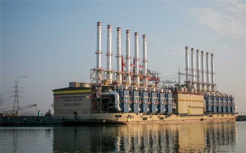 Karadeniz Powership Ayşegül Sultan, the Karpowership currently berthed in Dakar, Senegal. Image: Karpowership.