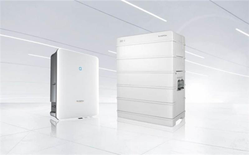The new hybrid inverter and battery launched by Sungrow.  Image: Sungrow