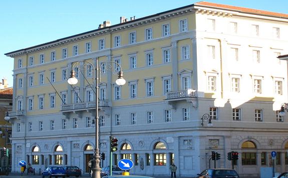 Fincantieri headquarters in Trieste, Italy.  Image: Tiesse/Wikimedia Commons/https://bit.ly/3c5rlfX