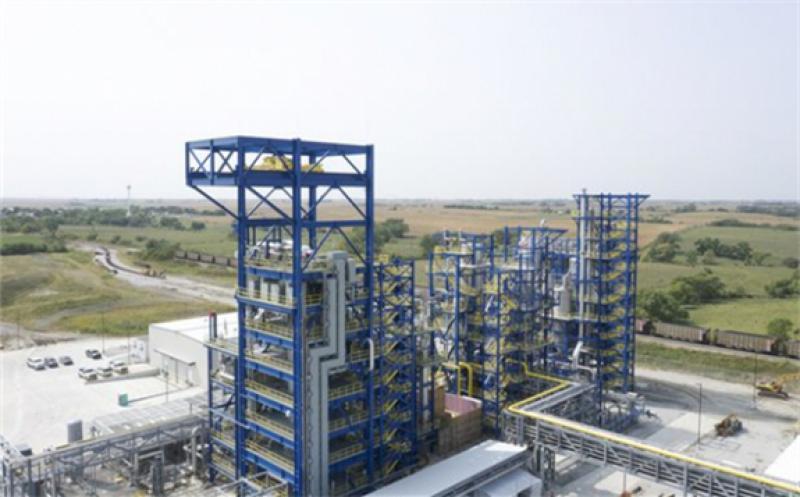 Monolith's turquoise hydrogen production plant in Nebraska