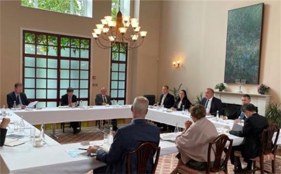 Energoatom's meeting with G7 ambassadors on 2 June (Image: Energoatom)