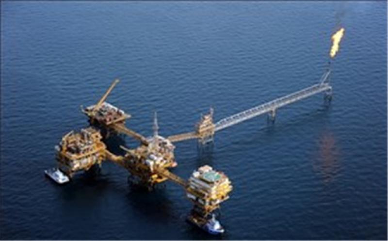 Iran's Abouzar production platform