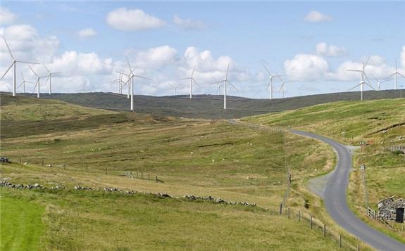 The Viking Wind Farm will feature 103 wind turbines. Credit: Nexans.