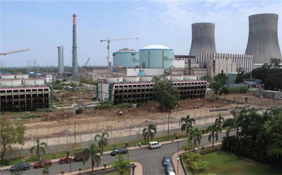 Units 3 and 4 of the Kakrapar plant, India's first two indigenously designed 700 MWe PHWRs (Image: NPCIL)