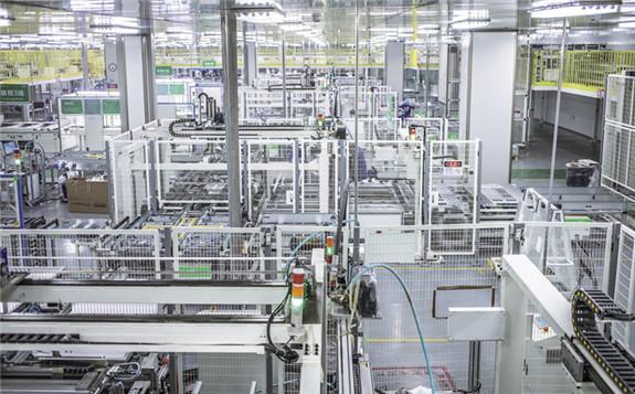 A JinkoSolar manufacturing facility in China.  Image: JinkoSolar