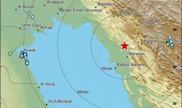 Iran earthquake (Image: EMSC)