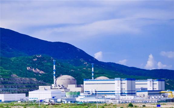 The two EPR units at Taishan (Image: TNPJVC)