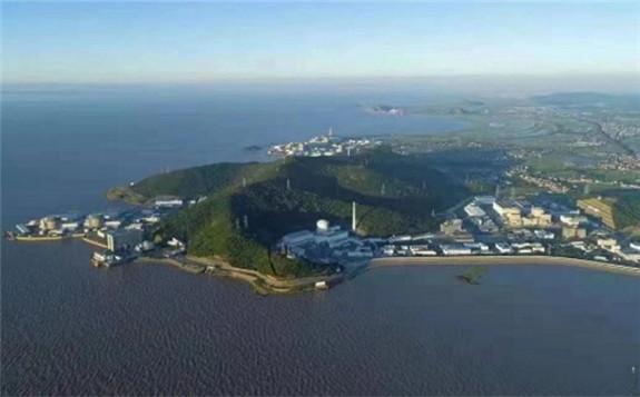 The seven-unit Qinshan plant (Image: CNNC)