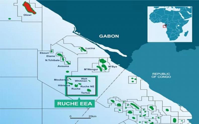 Gabon map; Source: BW Energy