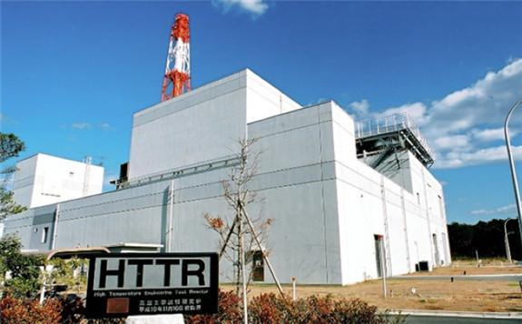 The HTTR reactor (Image: JAEA)