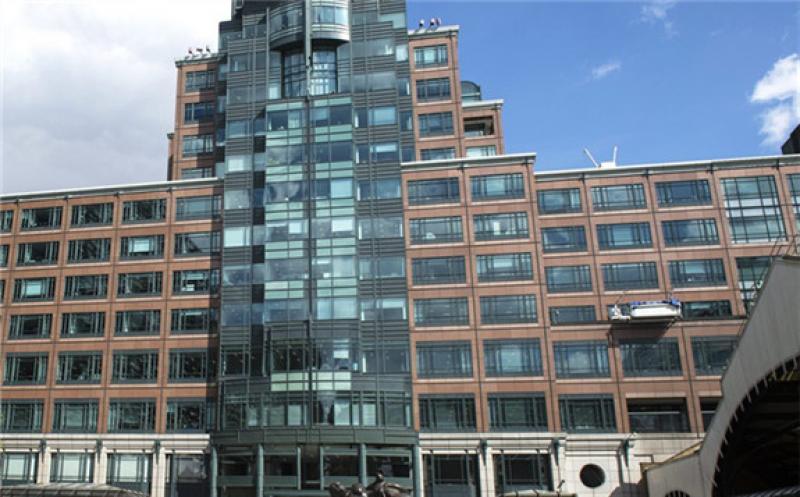 The EBRD headquarters in London.