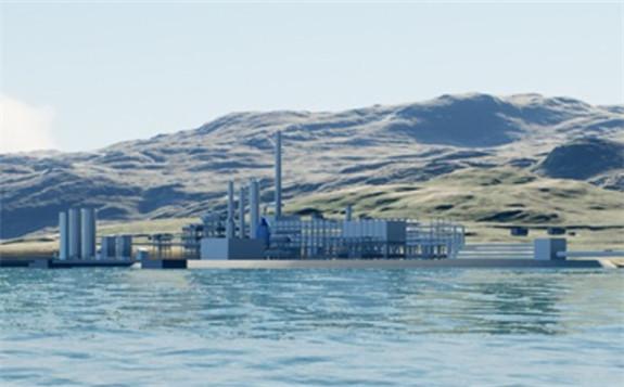 Artist impressions of the Barents Blue facilities (Horisont Energi)