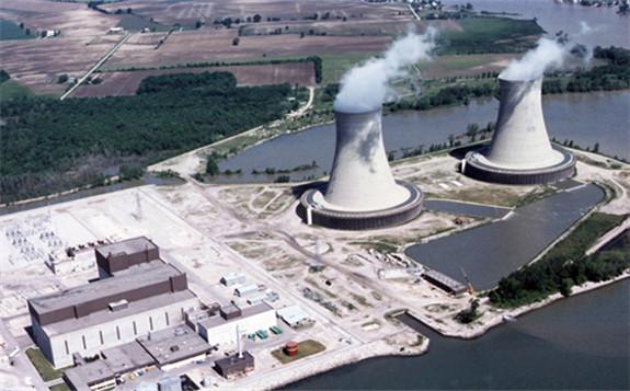 The Enrico Fermi nuclear generating Station near Monroe, Michigan, US.